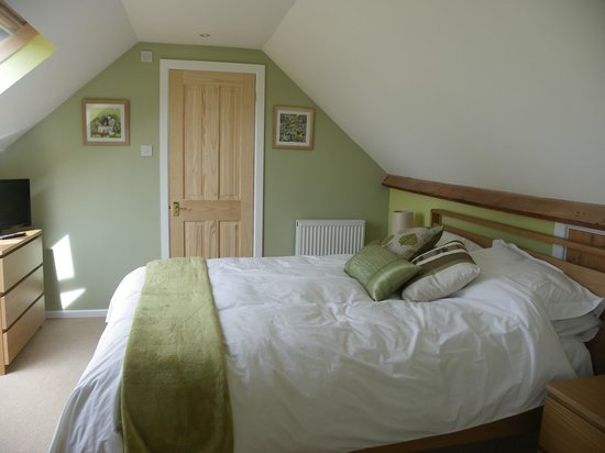 Lyme Tree House: Langdon Room - Kingsize with fantastic view