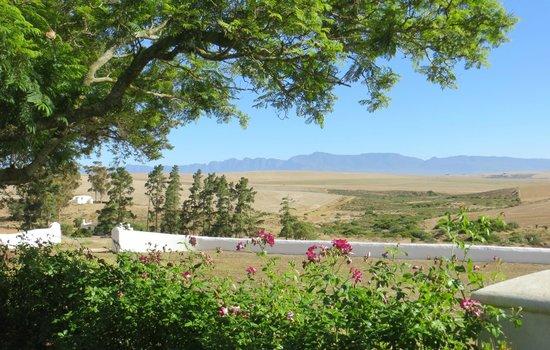 Halfaampieskraal: The view from the garden