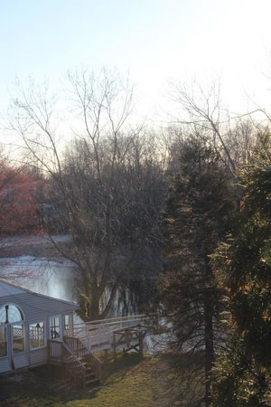 Salem Creekside Inn: View from my room