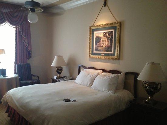 Le Pavillon Hotel: The room