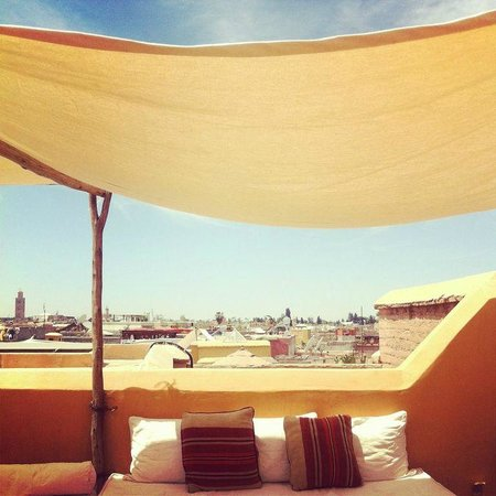 Dar Hanane: the roof top