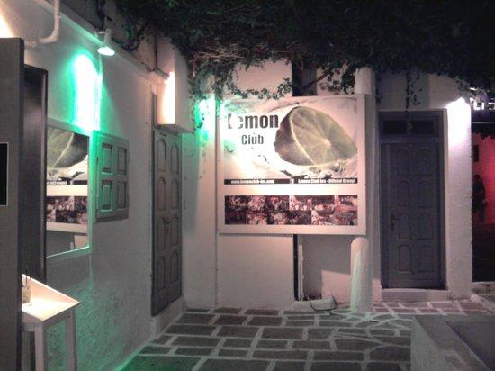 Chora, Greece: lemon club