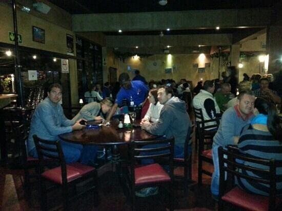 Cesco's Centurion: Inside the restaurant.