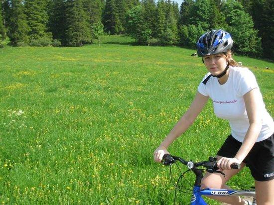 Hotel Reppert: Fahrradfahren