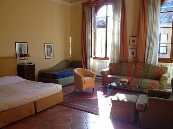 Palazzo Alfani al David: Main bedroom