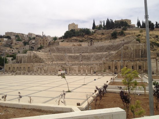 Roman Theater Hotel : The Roman Theatre opposite