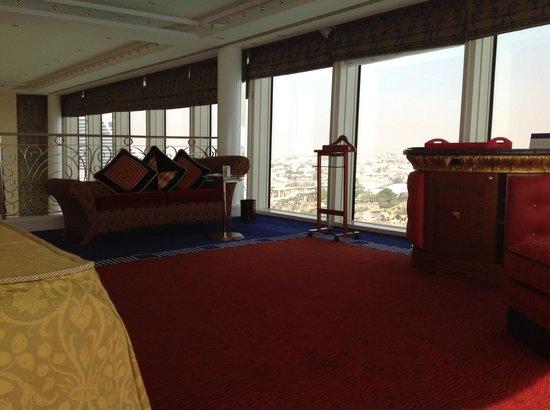 Burj Al Arab Jumeirah: Schlafzimmer.