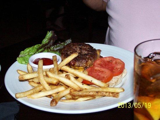 Revelry Pub & Grill: Revelry Stuffed Burger