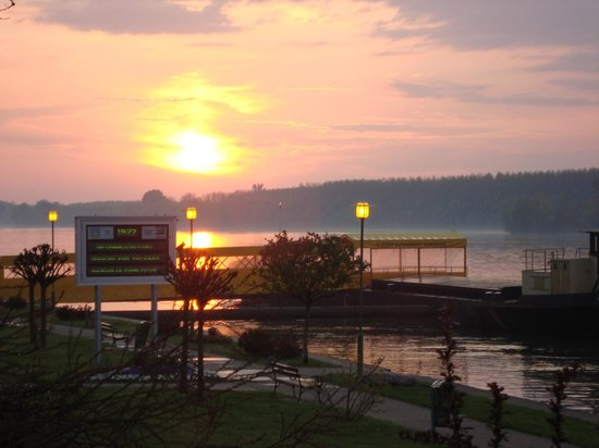 Hotel Dunav : View from the terrace