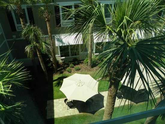 Hampton Inn New Smyrna Beach : view from room 341