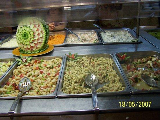 Eri Beach & Village: Makarony/Pasta