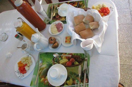 Villa La Roca: el desayuno