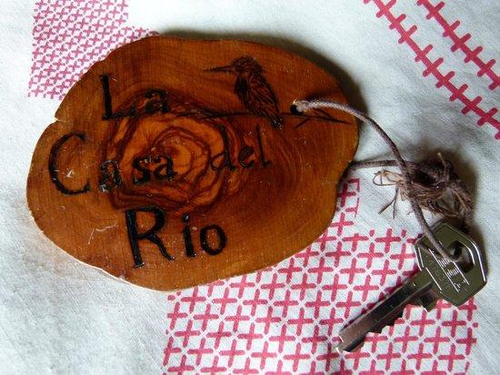 Hotel La Casa del Rio: Llaves