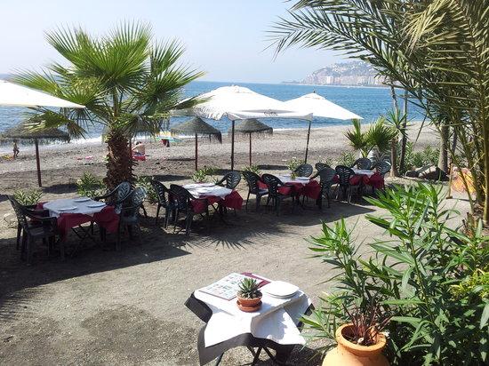 Restaurante Titoyayo: playa de cabria