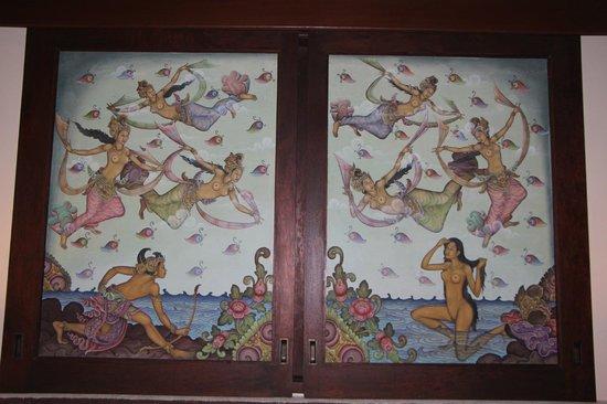 Bidadari Private Villas & Retreat - Ubud: спальня на втором этаже