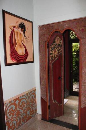 Bidadari Private Villas & Retreat: комната на первом этаже