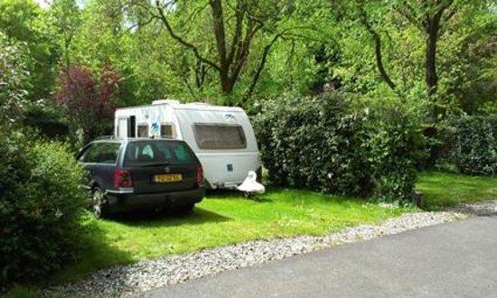 Nantes Camping : notre place