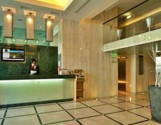 Turim Alameda Hotel: recepcion