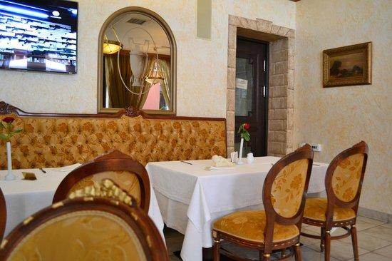 Podol Plaza: breakfast room