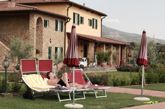 Agriturismo Savernano: The main building