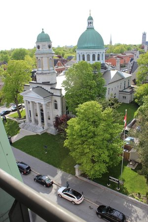 Four Points Hotel and Suites Kingston : Balcony view.