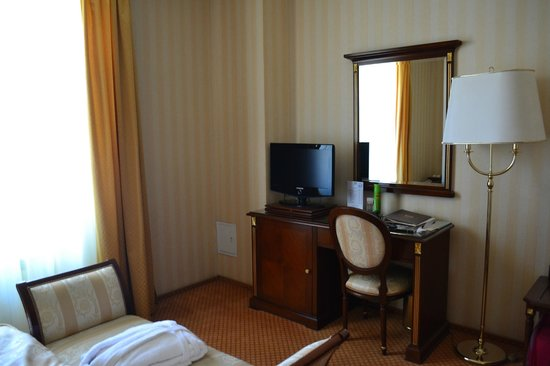 Podol Plaza: our room