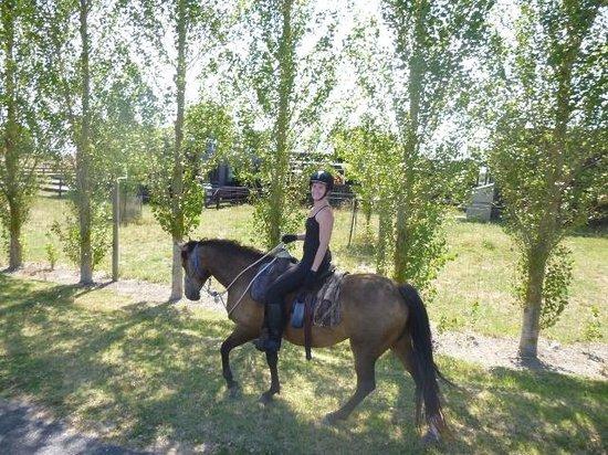 Boutique Horsetreks Day Tours : Me riding Nugget