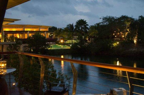 Agave Azul at Rosewood Mayakoba: View from Agave Azul