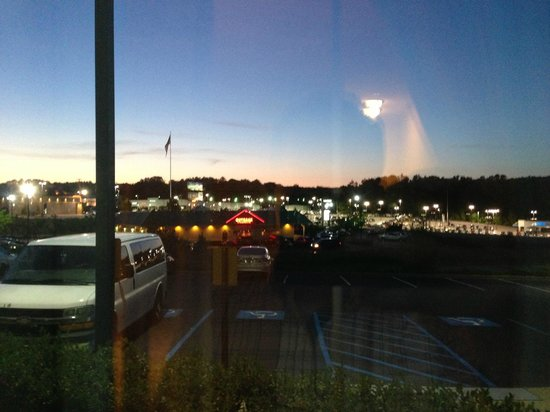Hampton Inn Easley : View from room into parking lot