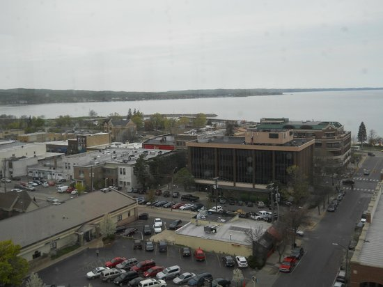 Park Place Hotel : View from the Top Bar.