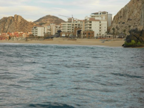 Grand Solmar Land's End Resort & Spa: Hotel from my fishing boat