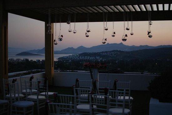 Ramada Resort Bodrum: Otelde en gizli kalmis manzara acisi...
