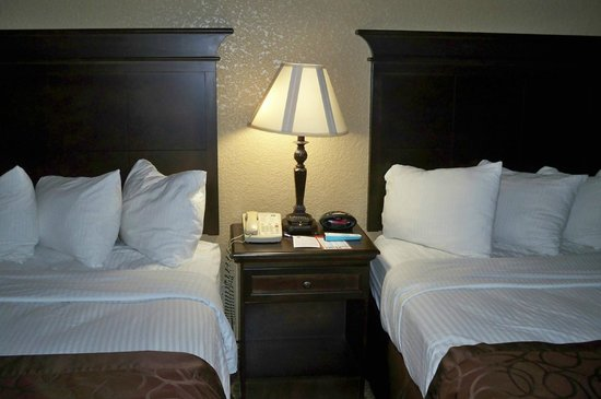 BEST WESTERN Center Pointe Inn: Very nice room with two queen beds!