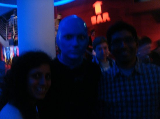 Blue Man Group: Blue Man show