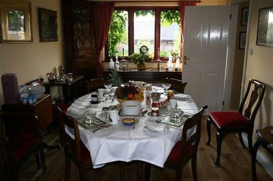 Ty Carreg: Dining Room