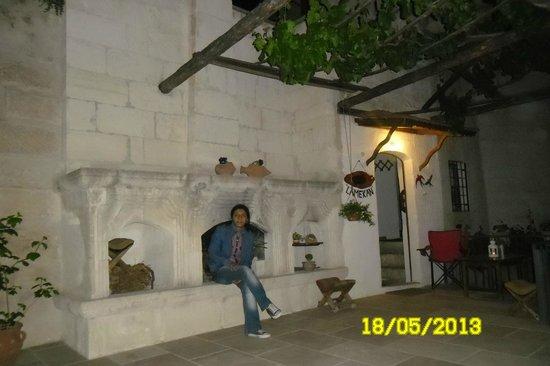 Lamihan Hotel Cappadocia : Bahçe