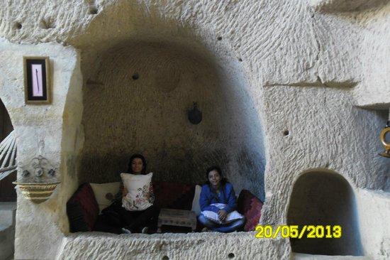 Lamihan Hotel Cappadocia: Salonn