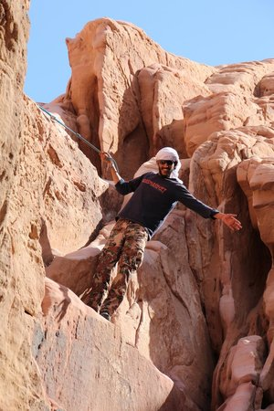 Wadi Rum Discovery: ahmed