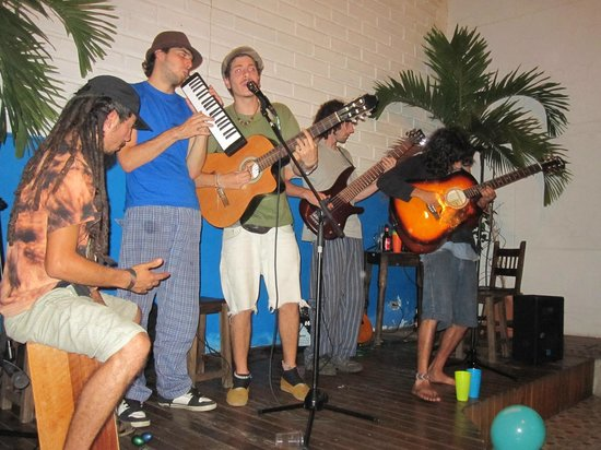 The Wandering Paisa : Band at second anniversary party