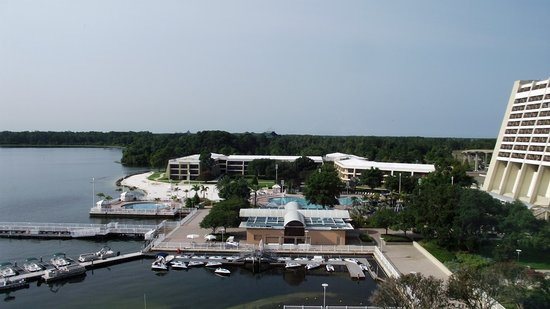 Bay Lake Tower at Disney's Contemporary Resort: View from our window