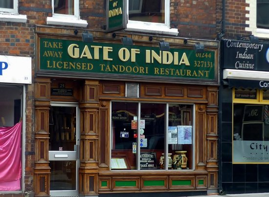 Gate Of India, City Road, Chester
