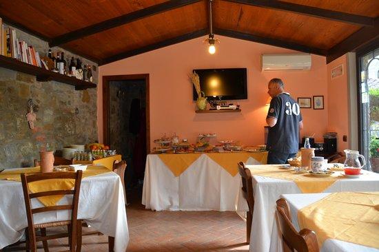 Agriturismo I Pagliai: breakfast @ Agrirurismo I Pagliai