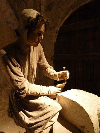 La Grange aux Dimes: tailleur de pierre