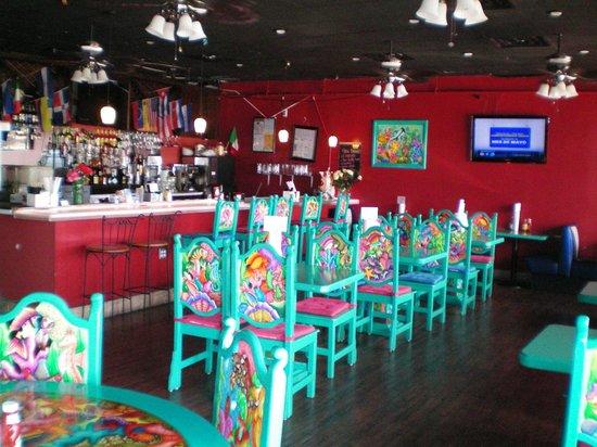 Chilangos Mexican Seafood Restaurant Interior