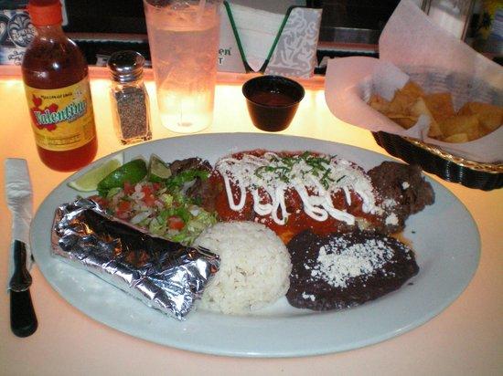 Chilangos Mexican Seafood Restaurant Bistec Y Chili Relleno