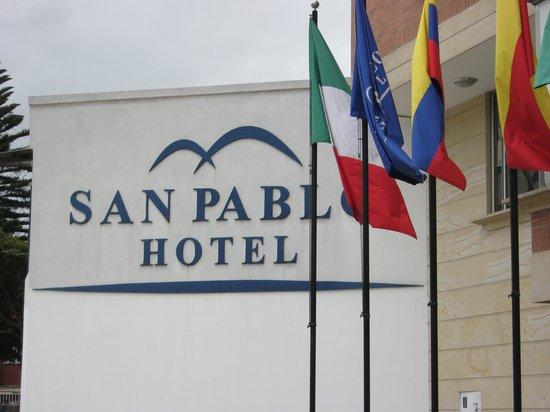 San Pablo Hotel : Fachada del Hotel San Pablo