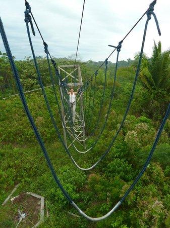 Ecoaventuras Amazonicas: Hochseilgarten
