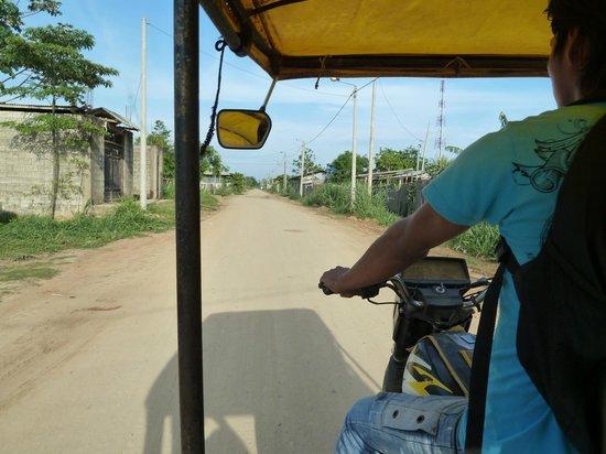 Ecoaventuras Amazonicas: Unterwegs in die Stadt mit dem Tuk Tuk