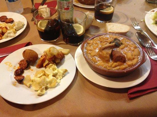 El Ovetense: Plat typique asturien