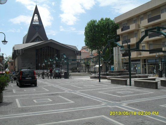 Hotel Stella D'Italia: центральная площадь